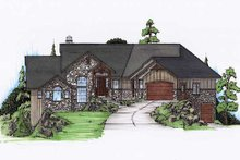 House Plan Design - Traditional Exterior - Front Elevation Plan #5-272