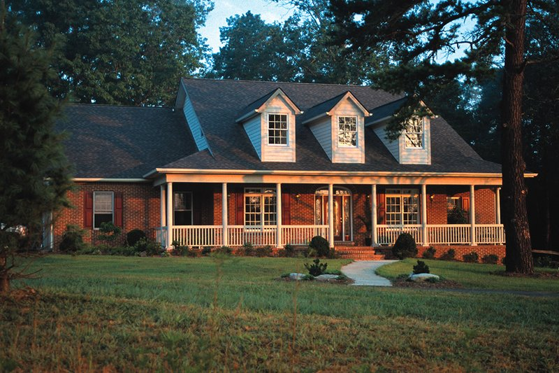 Dream House Plan - Southern Exterior - Front Elevation Plan #20-254