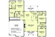 Farmhouse Style House Plan - 3 Beds 2 Baths 1697 Sq/Ft Plan #430-230 Floor Plan - Main Floor Plan