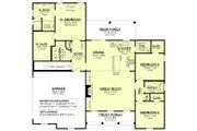 Farmhouse Style House Plan - 3 Beds 2 Baths 1697 Sq/Ft Plan #430-230 Floor Plan - Main Floor