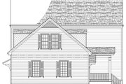 Colonial Style House Plan - 4 Beds 3.5 Baths 2774 Sq/Ft Plan #137-291 Exterior - Front Elevation