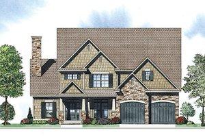 Craftsman Exterior - Front Elevation Plan #17-2416