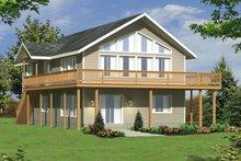 Home Plan - Modern Exterior - Front Elevation Plan #117-209