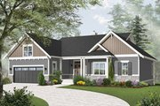 Traditional Style House Plan - 4 Beds 3.5 Baths 3380 Sq/Ft Plan #23-2534 Exterior - Front Elevation