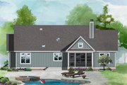Ranch Style House Plan - 3 Beds 2 Baths 1486 Sq/Ft Plan #929-1118