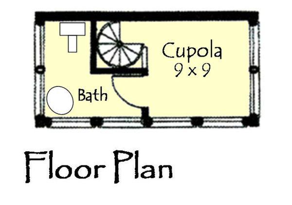 Craftsman Floor Plan - Upper Floor Plan #921-16