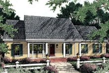 Architectural House Design - Country Exterior - Front Elevation Plan #406-122