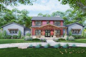 Farmhouse Exterior - Front Elevation Plan #120-275