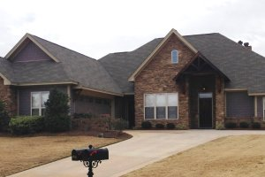 Home Plan - Country Exterior - Front Elevation Plan #63-267