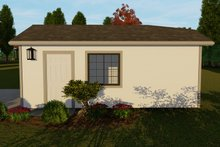Dream House Plan - Traditional Exterior - Other Elevation Plan #1060-93