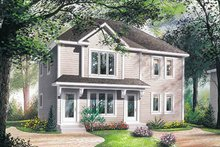 Dream House Plan - Modern Exterior - Front Elevation Plan #23-2077