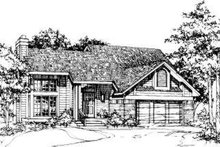 House Plan Design - Exterior - Front Elevation Plan #320-128