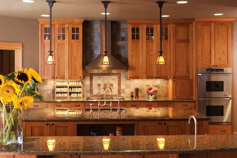 Craftsman Interior - Kitchen Plan #48-364 - Houseplans.com