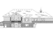 House Plan Design - Traditional Exterior - Rear Elevation Plan #5-270