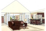 Cottage Style House Plan - 3 Beds 2 Baths 1554 Sq/Ft Plan #312-618