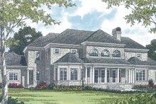 Dream House Plan - European Exterior - Rear Elevation Plan #453-52