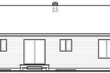 Dream House Plan - Ranch Exterior - Rear Elevation Plan #23-779