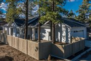 Craftsman Style House Plan - 3 Beds 2 Baths 1729 Sq/Ft Plan #895-56 Exterior - Rear Elevation