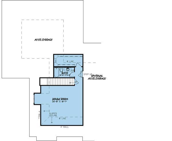 European Floor Plan - Other Floor Plan Plan #923-17