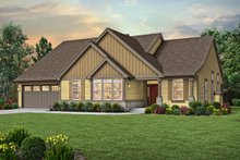 Craftsman Exterior - Front Elevation Plan #48-956