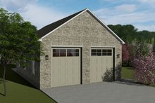 Dream House Plan - Traditional Exterior - Front Elevation Plan #1060-85