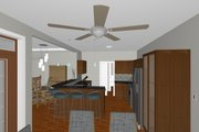 Farmhouse Style House Plan - 3 Beds 2 Baths 1645 Sq/Ft Plan #126-179 Interior - Kitchen
