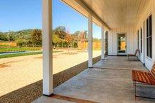 House Plan Design - Ranch Exterior - Outdoor Living Plan #888-8
