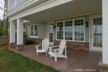 Home Plan - European Exterior - Covered Porch Plan #929-4