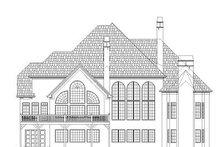 Dream House Plan - European Exterior - Rear Elevation Plan #119-251