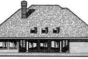 Traditional Style House Plan - 3 Beds 2.5 Baths 2456 Sq/Ft Plan #20-885 Exterior - Rear Elevation