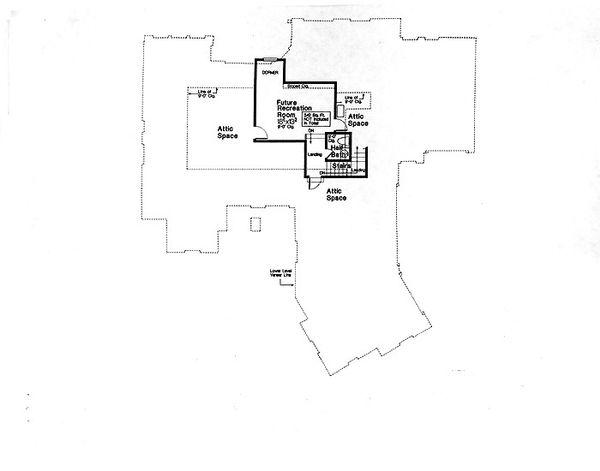 Dream House Plan - European Floor Plan - Other Floor Plan #310-699