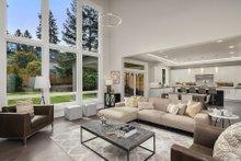 House Plan Design - Contemporary Interior - Family Room Plan #1066-125