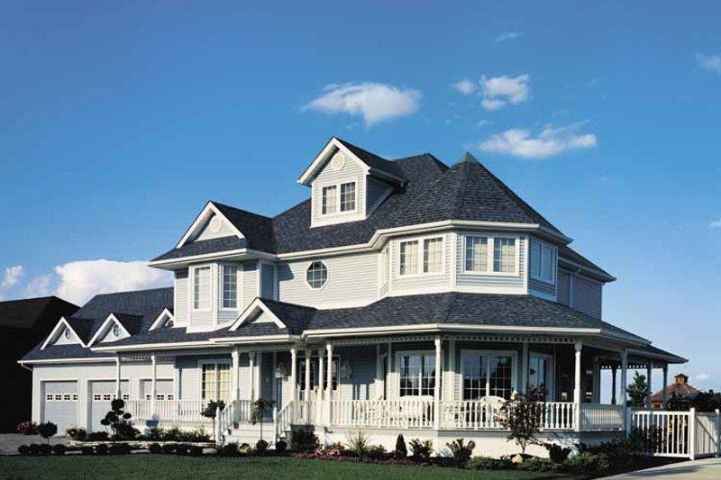 House Plan Design - Victorian Exterior - Front Elevation Plan #47-747