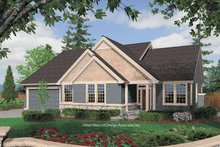 Traditional Exterior - Front Elevation Plan #48-846