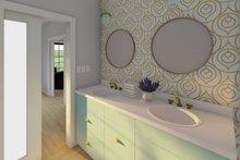 House Plan Design - Farmhouse Interior - Master Bathroom Plan #126-234