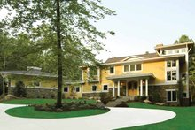 House Design - Prairie Exterior - Front Elevation Plan #928-38