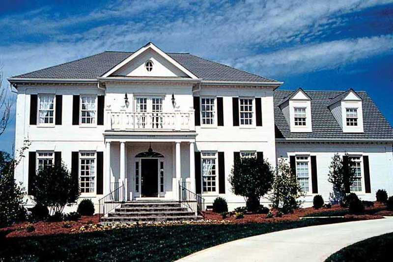 Classical Exterior - Front Elevation Plan #453-164 - Houseplans.com
