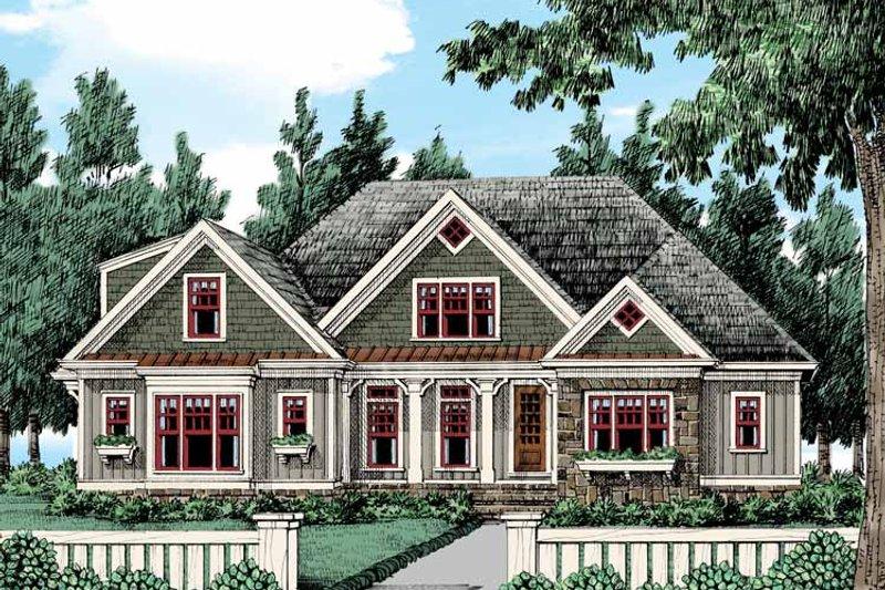 Bungalow Exterior - Front Elevation Plan #927-432 - Houseplans.com