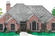 Traditional Style House Plan - 4 Beds 2.5 Baths 2065 Sq/Ft Plan #310-636 Exterior - Front Elevation