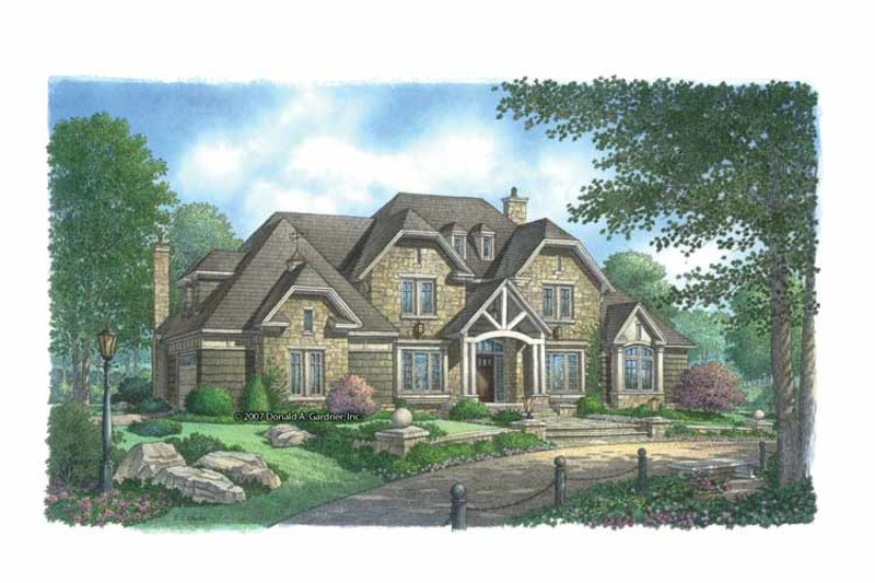 Country Exterior - Front Elevation Plan #929-850 - Houseplans.com