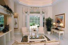 Mediterranean Interior - Family Room Plan #930-24