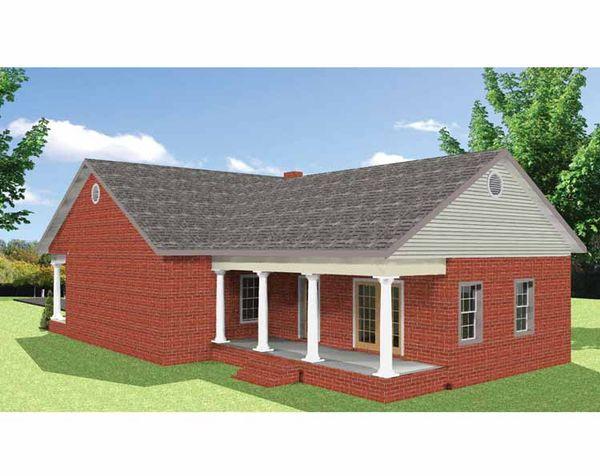 Country Floor Plan - Other Floor Plan Plan #44-220