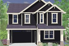 Traditional Exterior - Front Elevation Plan #509-175