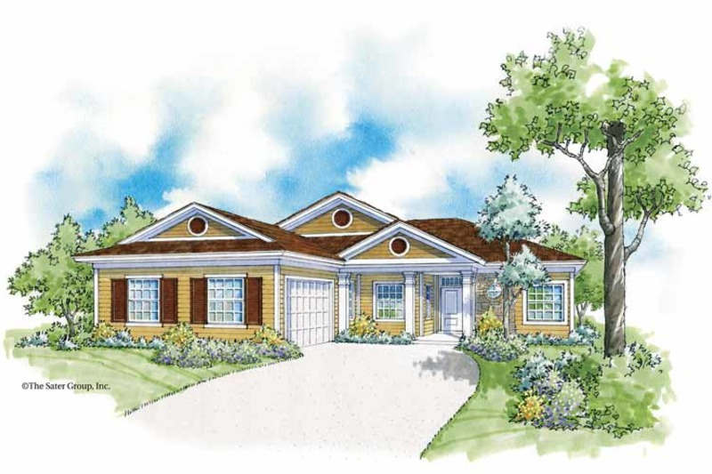 Country Exterior - Front Elevation Plan #930-365 - Houseplans.com