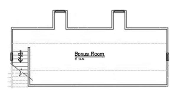 Mediterranean Floor Plan - Other Floor Plan Plan #417-687