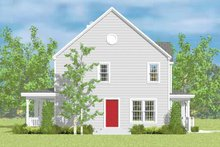 House Plan Design - Country Exterior - Other Elevation Plan #72-1082