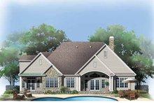 House Plan Design - Craftsman Exterior - Rear Elevation Plan #929-780