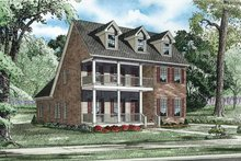 Traditional Exterior - Front Elevation Plan #17-3319