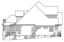 Dream House Plan - Traditional Exterior - Other Elevation Plan #1054-8
