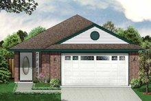 Ranch Exterior - Front Elevation Plan #84-665